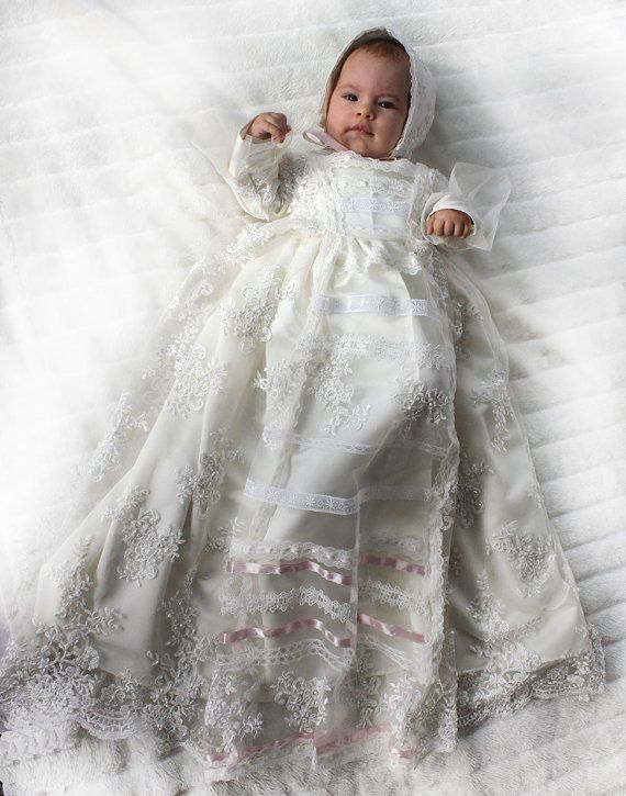94017490f Replica of the Royal Russian Christening Gown from Great Princess ...