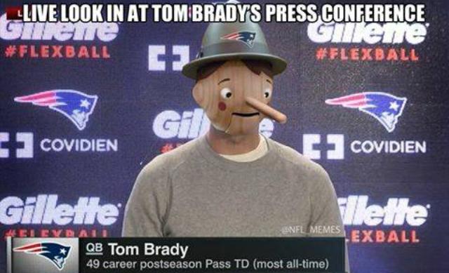 Deflate Gate Lol Humor Pinterest Tom Brady Patriots And Funny