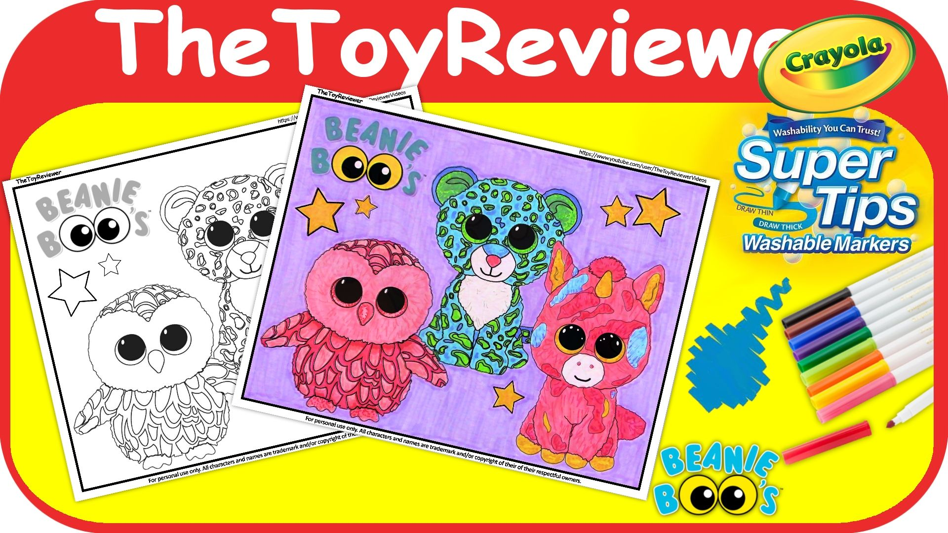 pinthetoyreviewer on thetoyreviewer videos  coloring