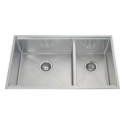 Kindred Kitchen Sink Kcc33r 9 10a Designer Series Double