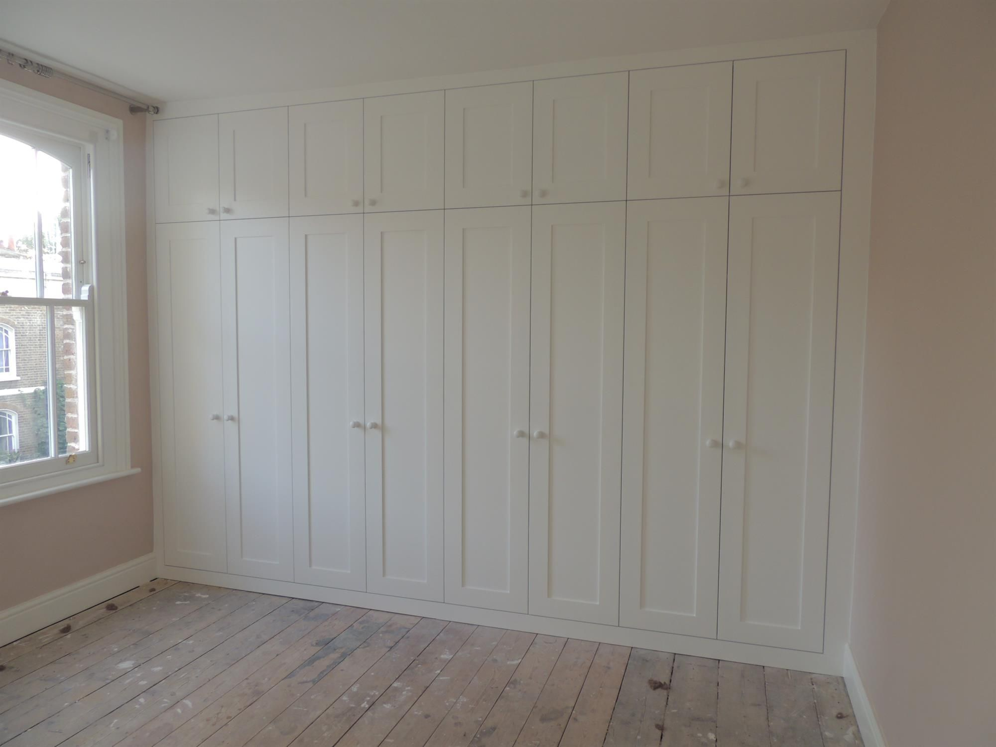 These units are built on either side and in front of the chimney breast. The…