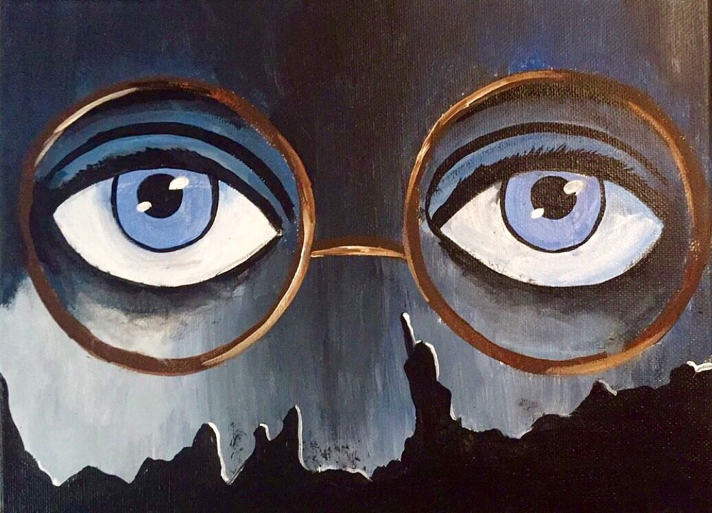 T J Eckleburg Eyes Billboard The Great Gatsby My Art Pinterest