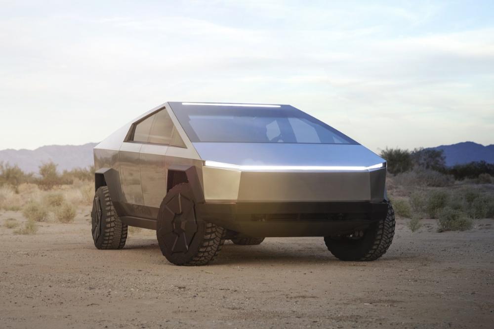 Tesla Finally Unveils Its Highly Anticipated Cybertruck Tesla Motors Electric Pickup Tesla Roadster
