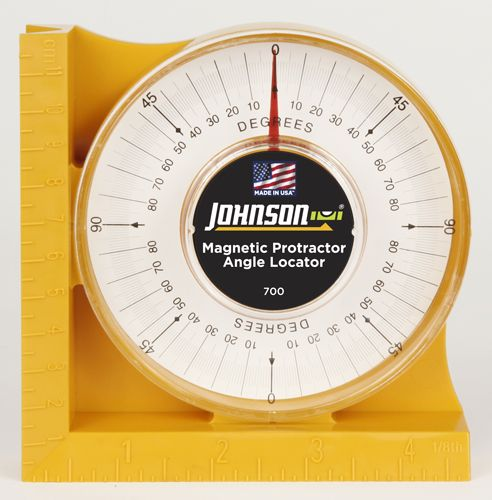 Johnson Magnetic Angle Locator 700 The Home Depot Welding Table Electrical Conduit Protractor