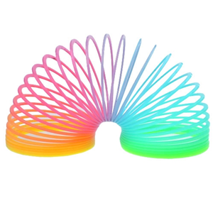 Glow-in-the-Dark Slinky   Office Playground. This would make a fun gift for kids and overgrown kids who never grew up. ;) This site has all sorts of entertaining toys.