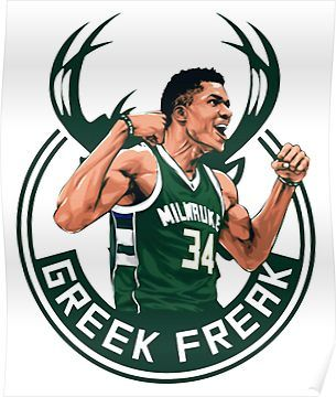 Greek Freak Poster By Leannariffith5