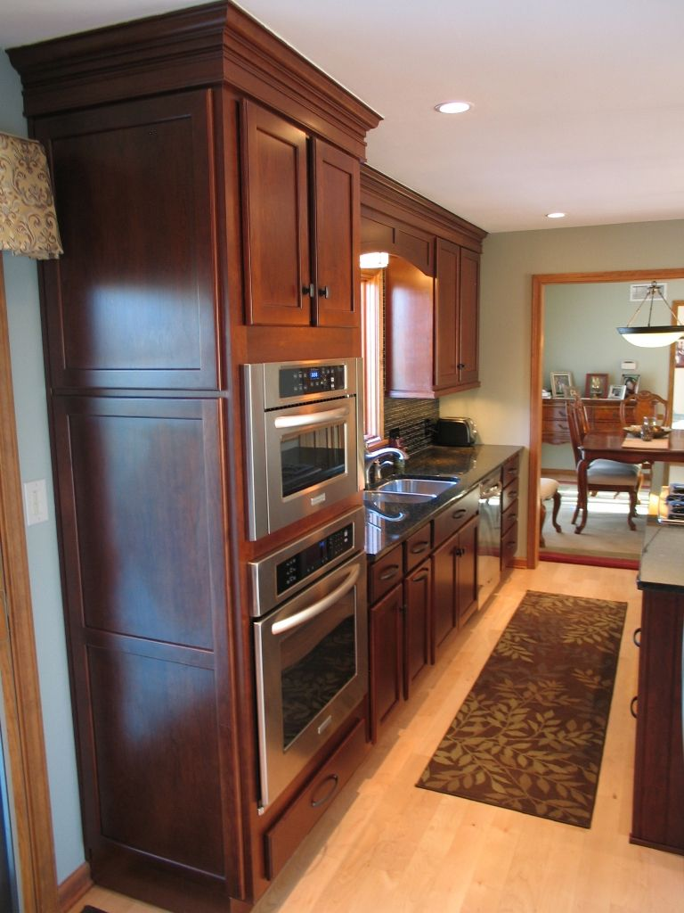Kitchens With Wall Oven Designs   Google Search