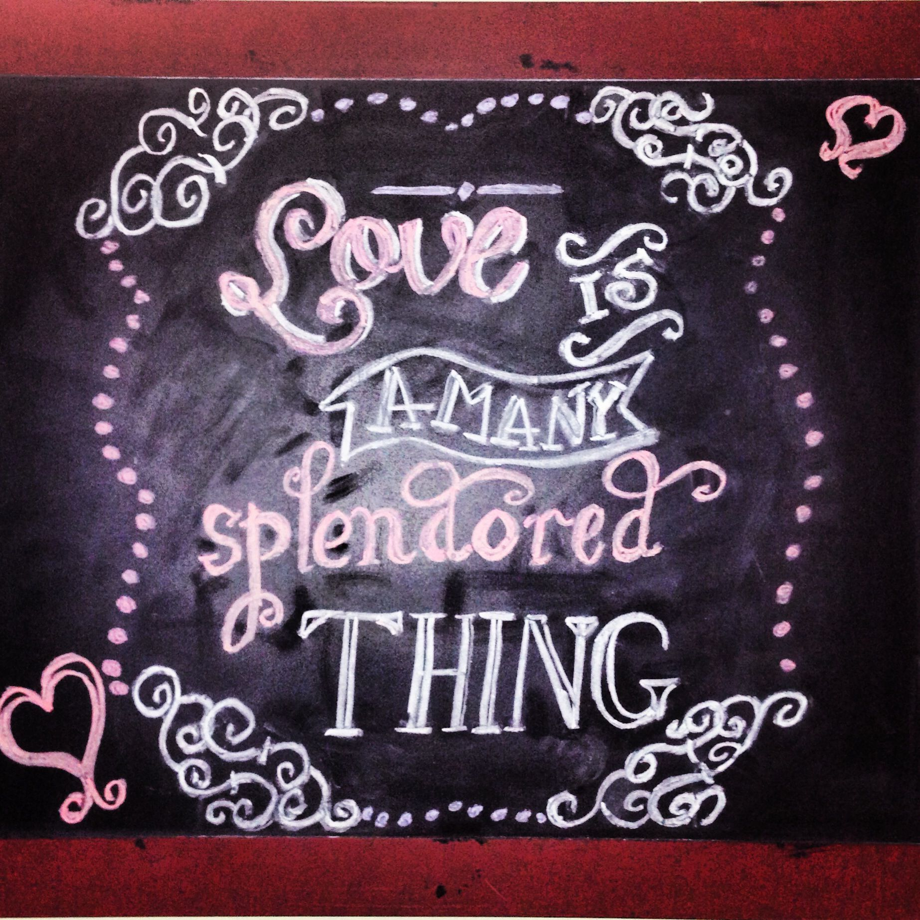 valentines day chalkboard design - Chalkboard Designs Ideas