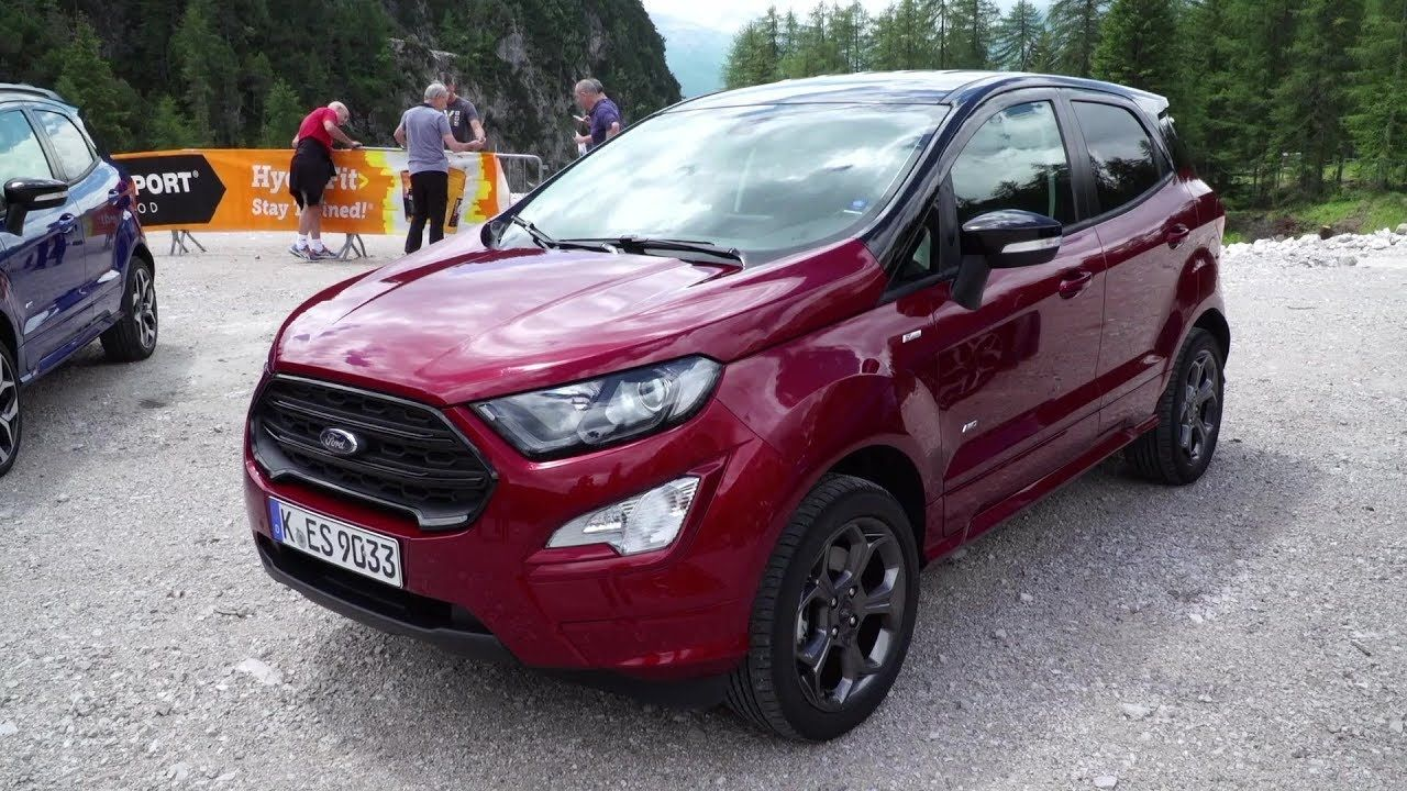 2019 Ford Ecosport St Line Awd Suv Driving Experience