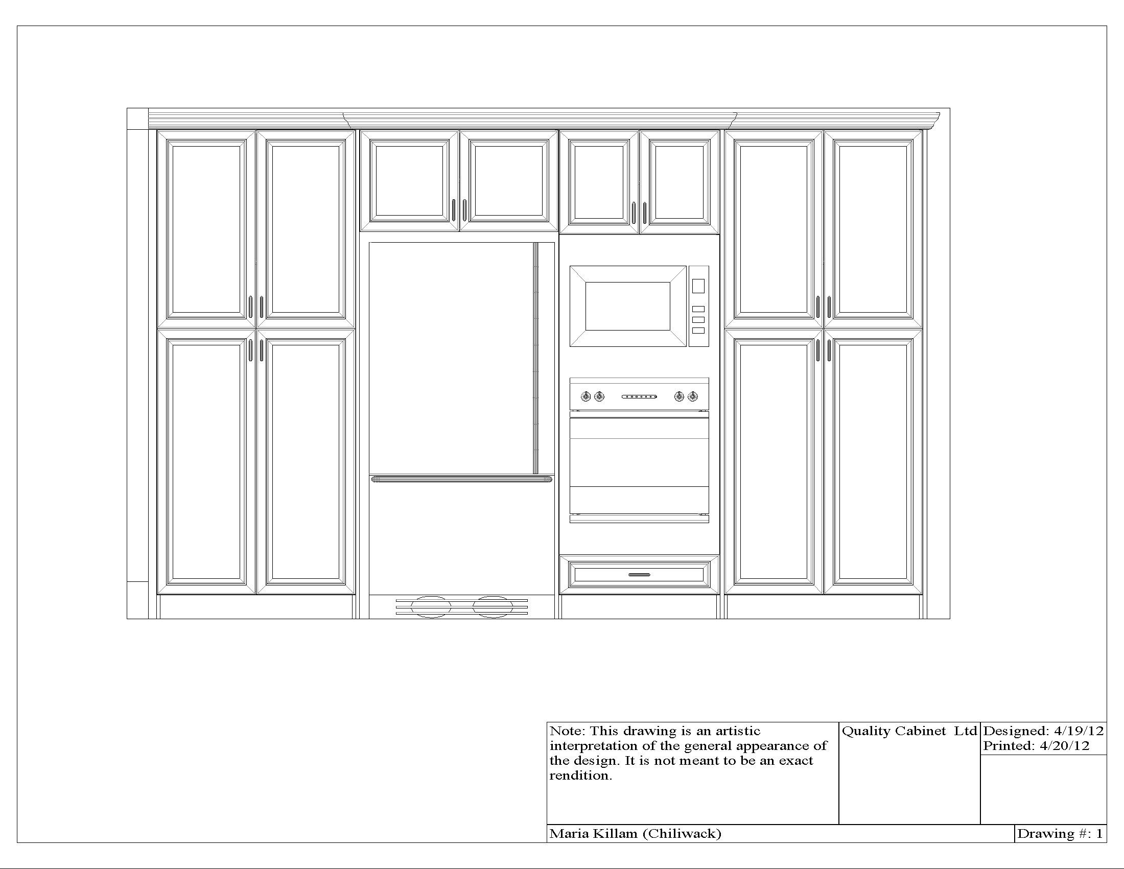 Kitchen Wall Cabinet Height Above Counter