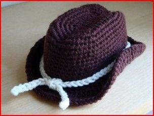 6 Free Crochet Cowboy Hat Patterns | Crochet cowboy hats ...