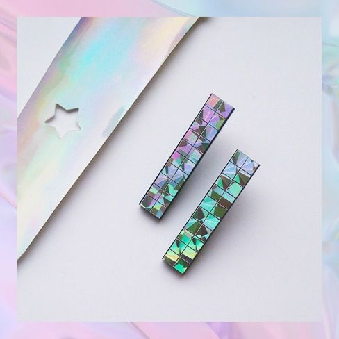 Image of DISCO FUTURE Earrings - 6 different colours