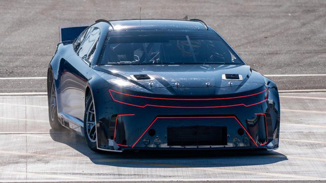 Joey Logano testing new 2021 NASCAR car in Arizona Joey