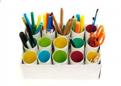 Desk Tidy Tp Roll Craft