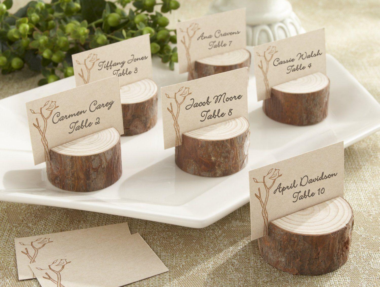 51 Creative DIY Wedding Table Number Ideas Rustic Place CardsRustic