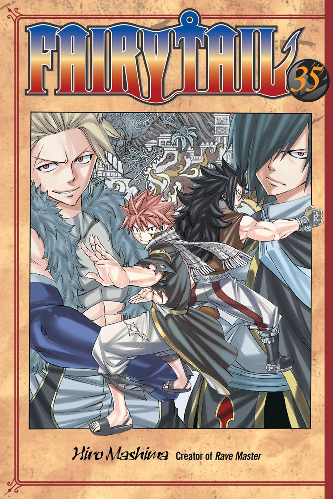 Fairy Tail Graphic Novel 35