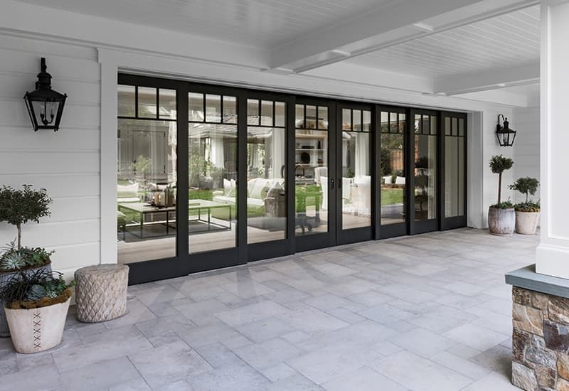 Open Up Your Home To The Outdoors With A Movable Glass Wall Bifold Patio Doors Sliding Glass Doors Patio Sliding Doors Exterior