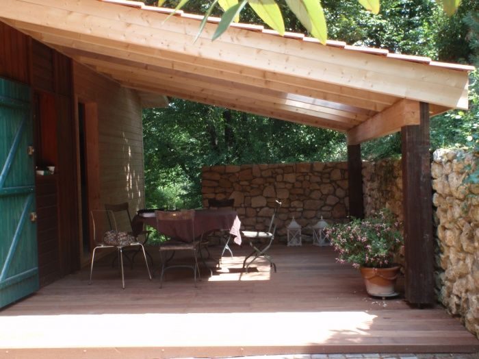 afficher l image source terrasse couverte pinterest backyard. Black Bedroom Furniture Sets. Home Design Ideas