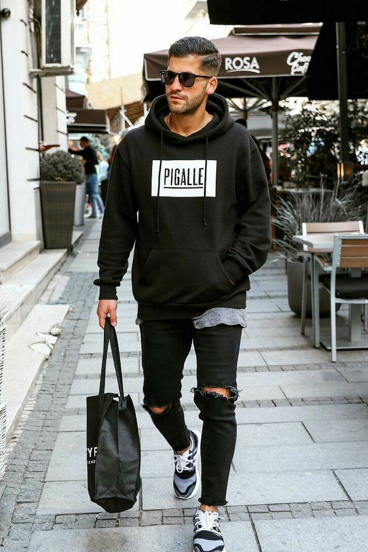 14 coolest all black casual outfit ideas for men black