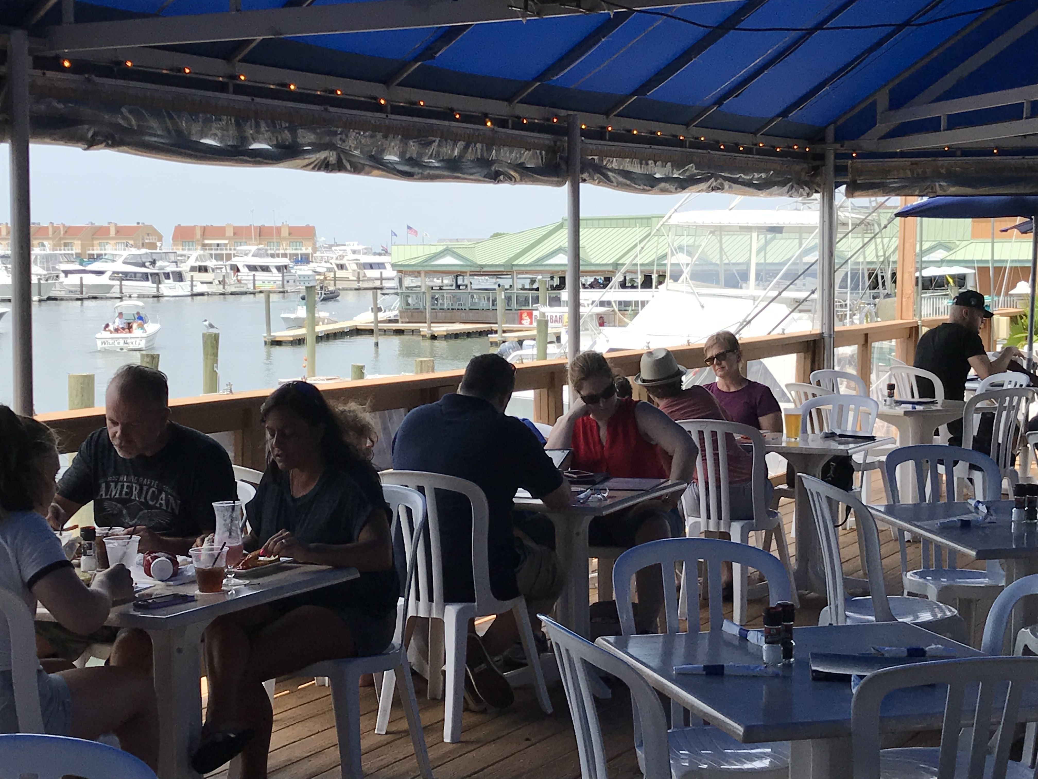 Boathouse Restaurant Marina Deck I Enjoyed Sunday Lunch At This Casual Spot Along The Water That Opened In 1989 Th Wildwood Restaurant Wildwood Wildwood Nj