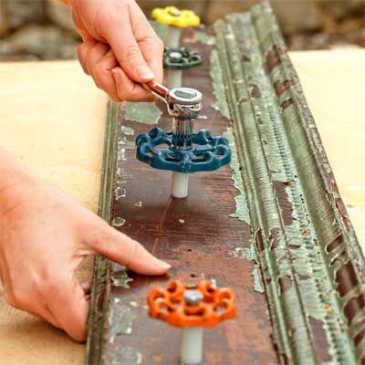 How To Build A Spigot Handle Garden Tool Rack