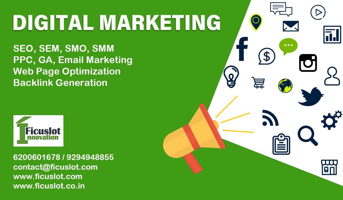 Digital marketing poster in 2020 digital marketing