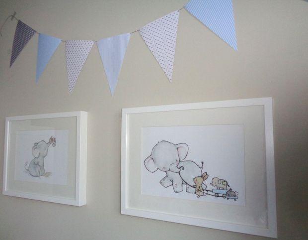 Cuadros acuarela elefantes trafalgarsquare en marcos ribba - Ikea marcos cuadros ...