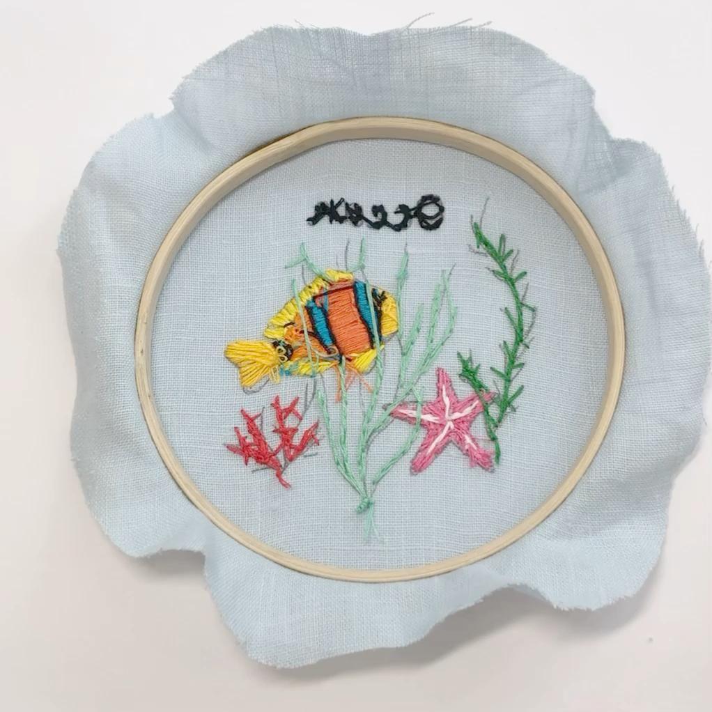 Embroidery tutorials  – sticken