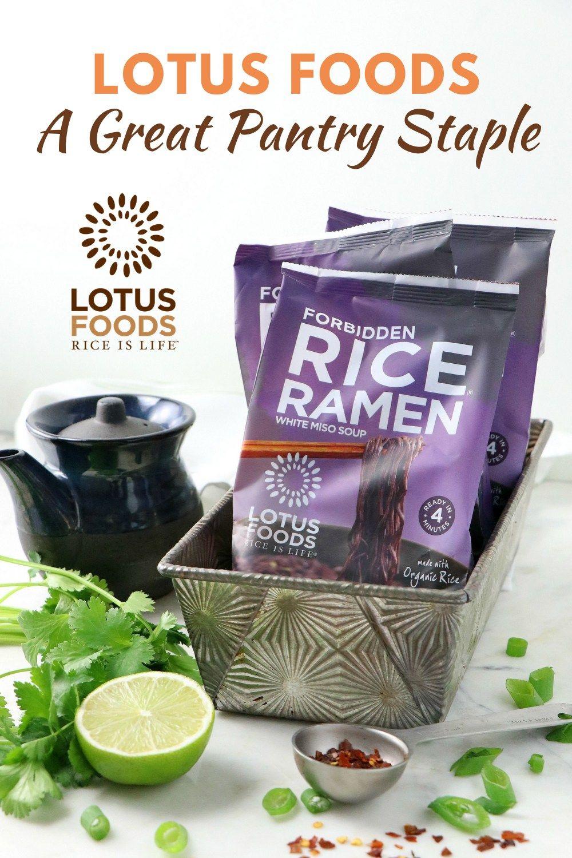 Lotus foods a great pantry staple in 2020 pantry