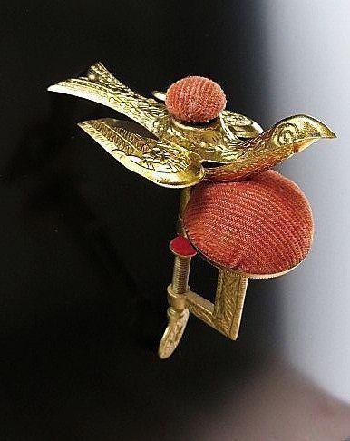 Circa 1880 Antique Victorian Sewing Bird