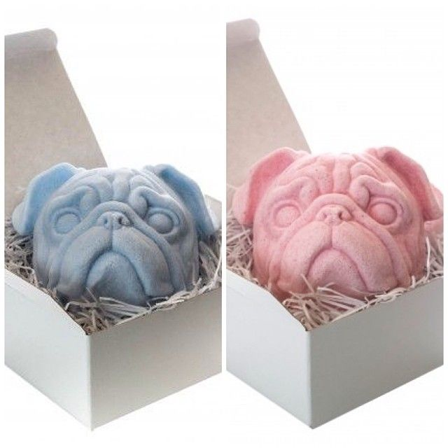 Pug Bath Bomb Just Bought These They Are Huge Someone Will Be