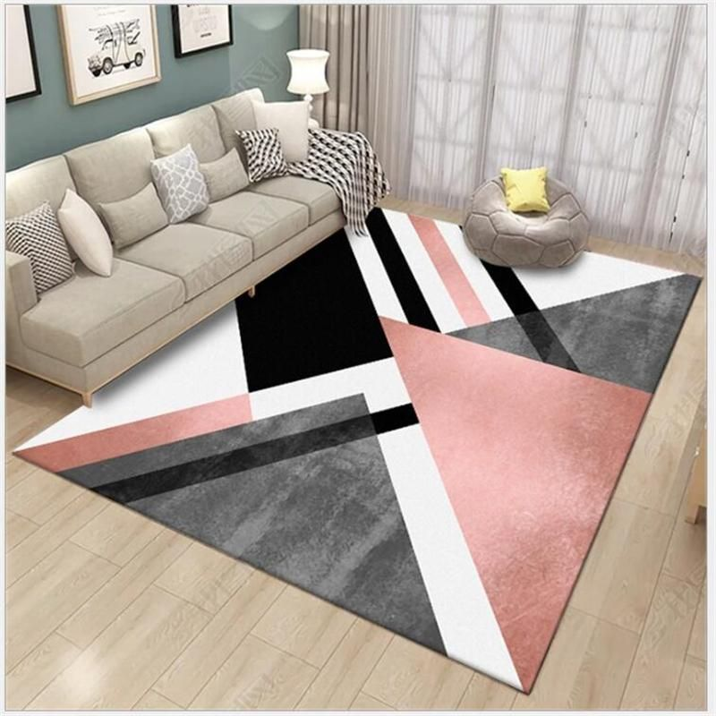 Aovoll Large Soft Carpet Bedroom Rugs For Living Room Floor Mats