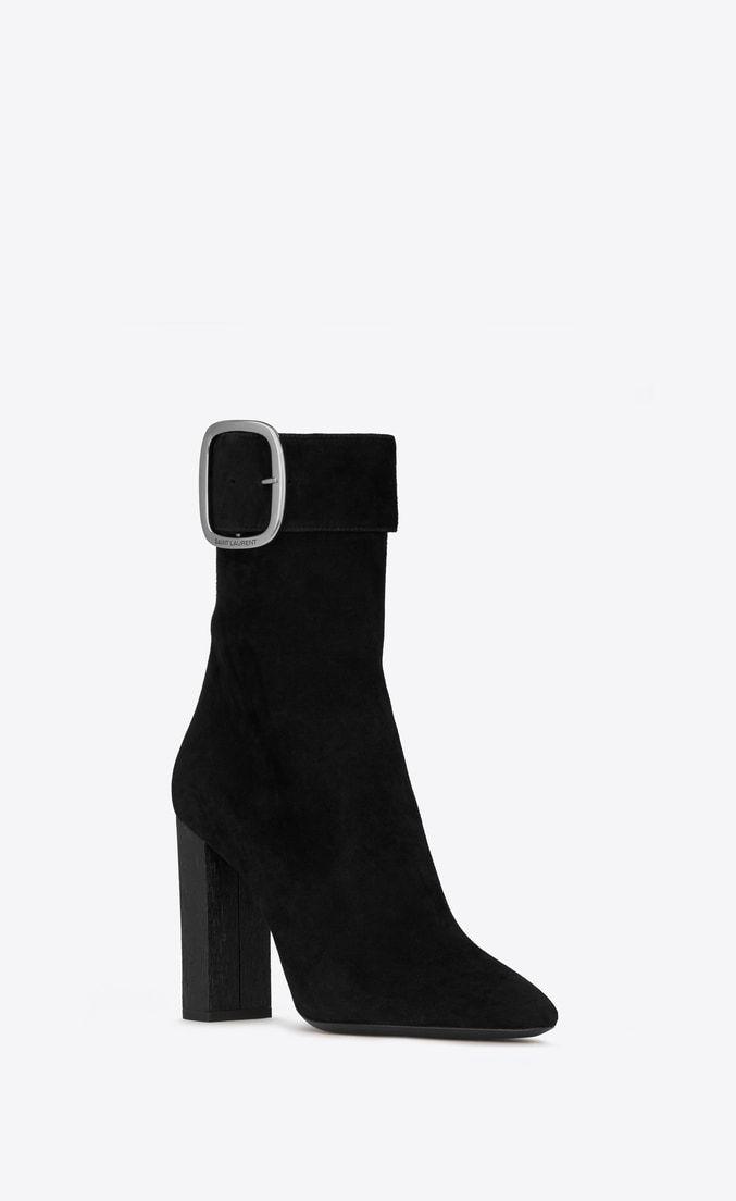 86f64b94ea Joplin buckle booties in suede in 2019 | Shoes | Sneaker boots ...