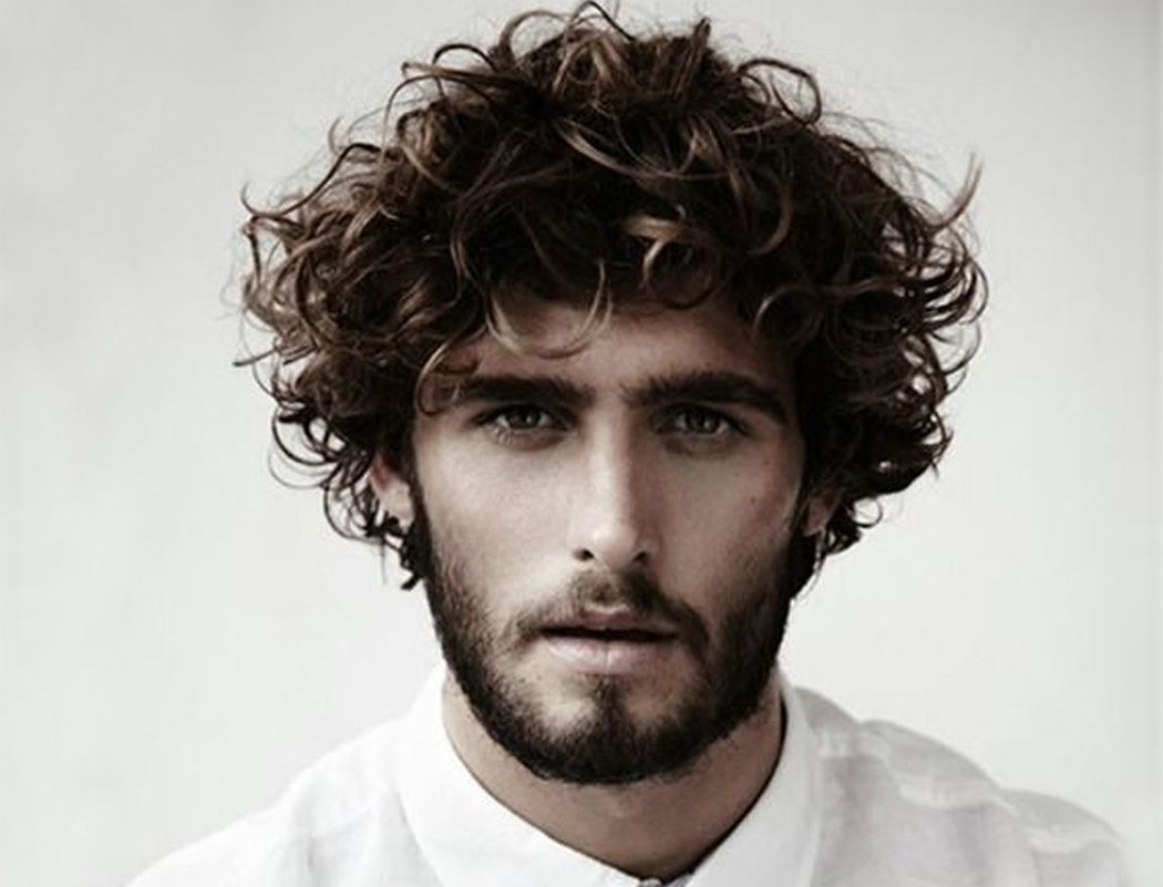 Curly Hairstyles Men Pleasing 12 Popular Haircuts For Men With Curly Hair  Wavy Hair Men Curly