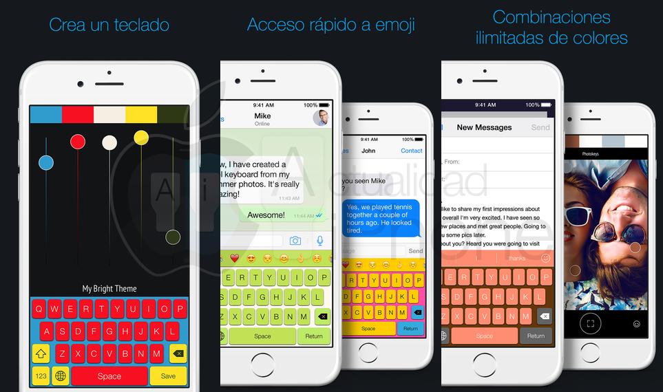 Photokeys crea tu propio teclado personalizado Teclado