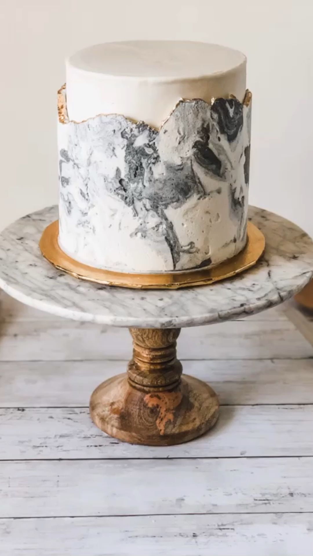 Photo of Marble Buttercream Cake