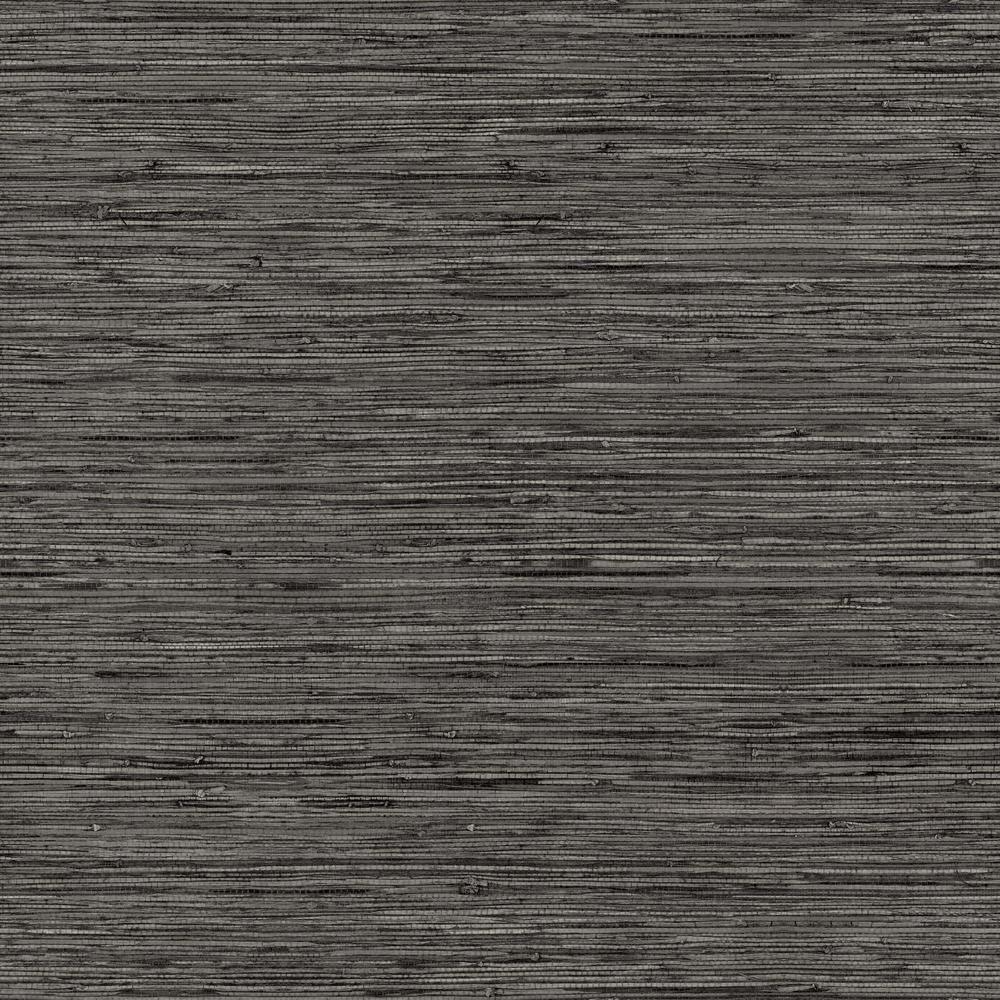 Roommates Grasscloth Grey Vinyl Peelable Wallpaper Covers 28 18 Sq Ft Rmk11313wp The Home Depot Grasscloth Grasscloth Wallpaper Peel And Stick Wallpaper