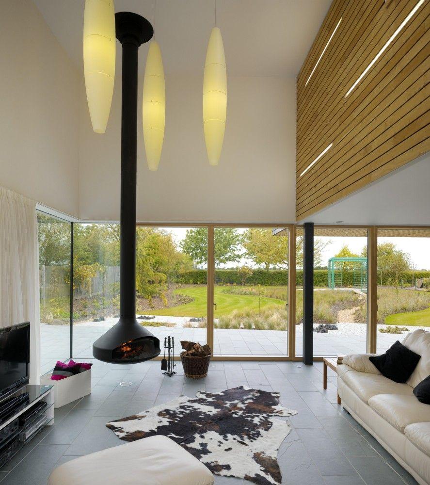 70 Moderne, Innovative Luxus Interieur Ideen Fürs Wohnzimmer   Architektur  Leuchter Idee Design Kaminofen