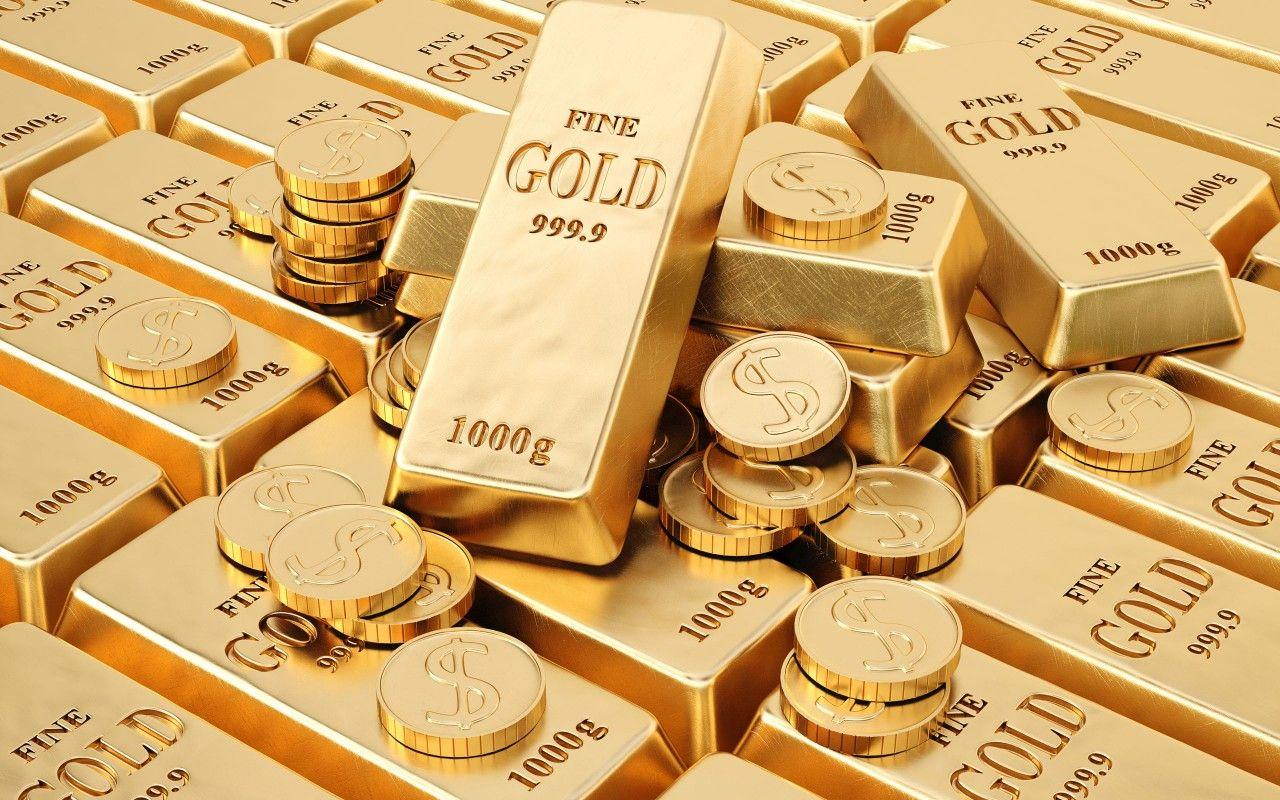 Lingotes De Oro Y Monedas Fondos De Pantalla Lingotes De Oro Y Monedas Fotos Gratis Lingotes De Oro Joyas De Diamantes Oro