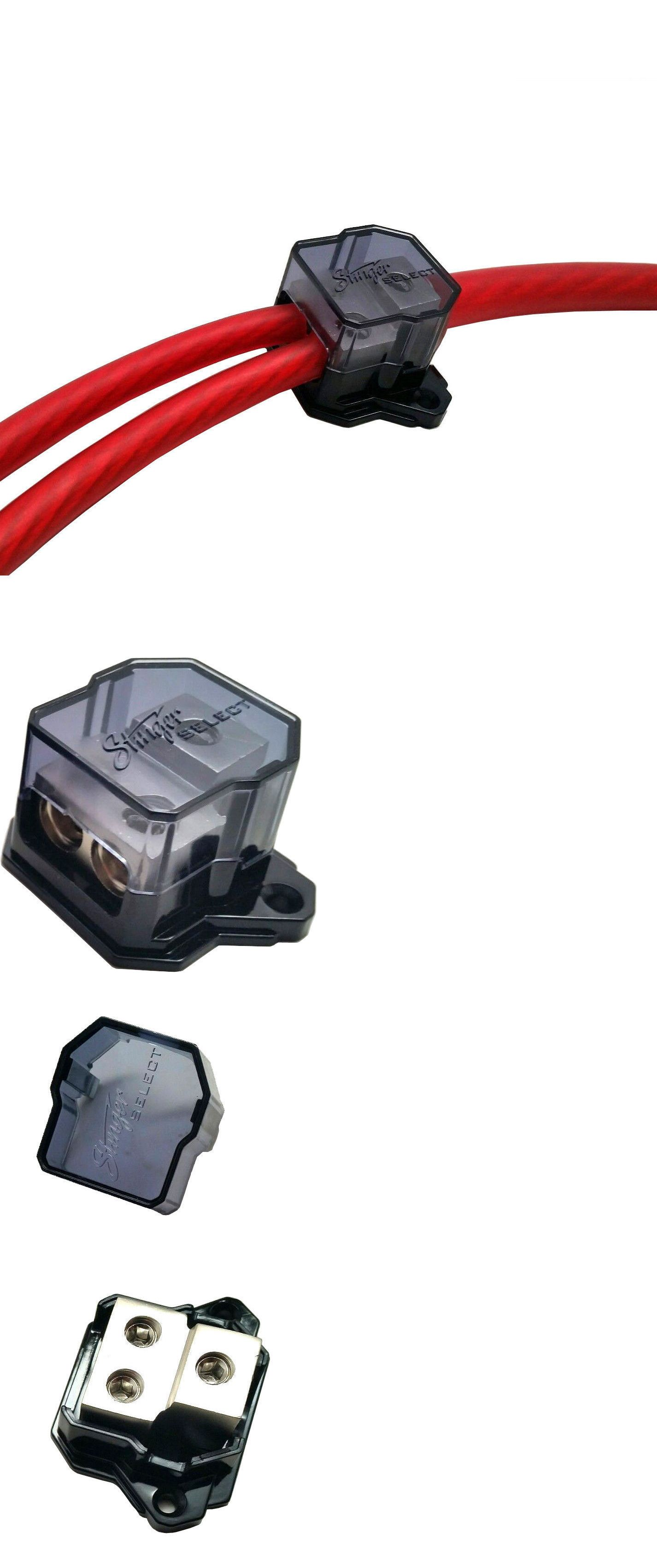 Distribution Blocks 50550 Stinger Select 0 Awg 4 Gauge Power Wire Wiring Block Ground Cable