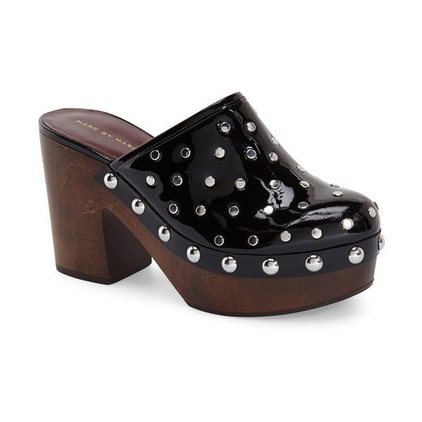 Marc by Marc Jacobs Patent Leather Studded Clogs high quality buy online many kinds of cheap price enjoy online for sale top quality yFaGTskSai