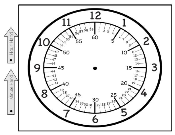 Free Printable Clock!   Free printable, Clocks and Math