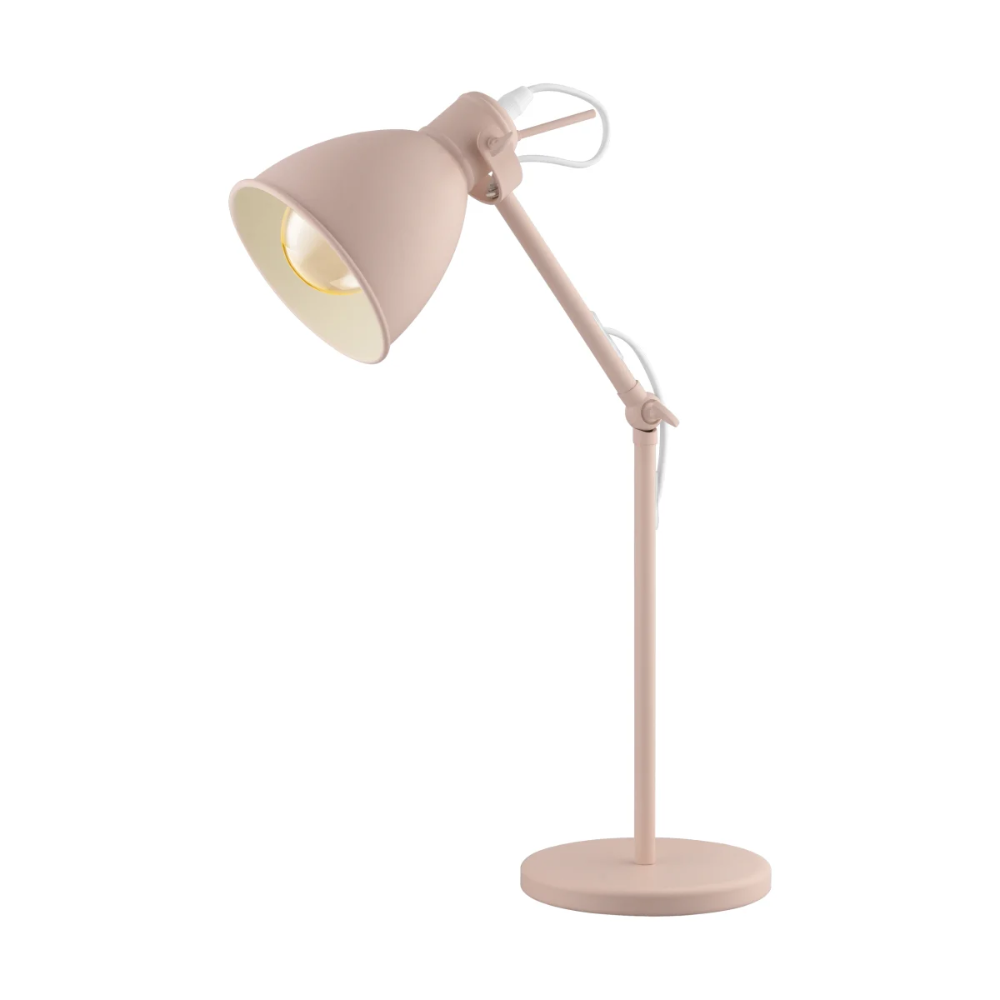 Eglo 204085a Build Com In 2020 Desk Lamp Lamp Steel Lamp Shade