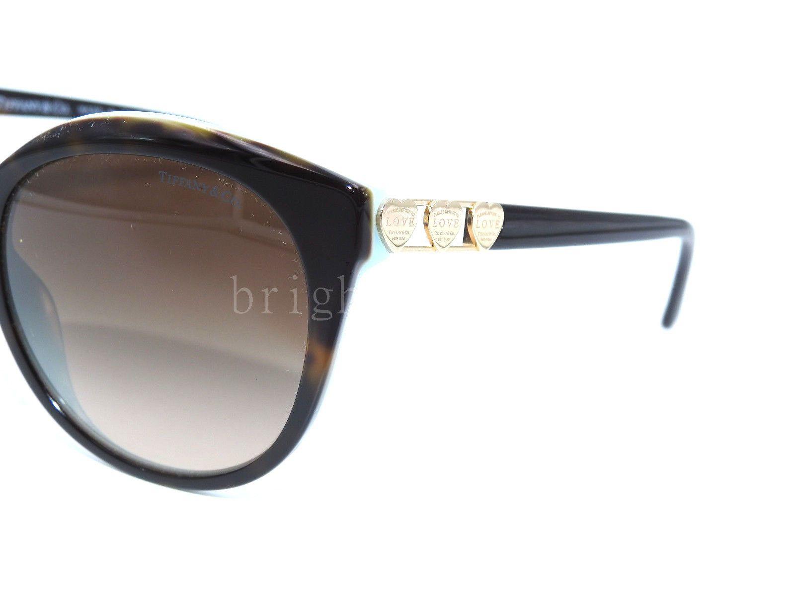 324ddd7c2a5 Authentic TIFFANY   CO. Return to Love Tortoise Sunglasses TF 4133 - 82163B  NEW 3