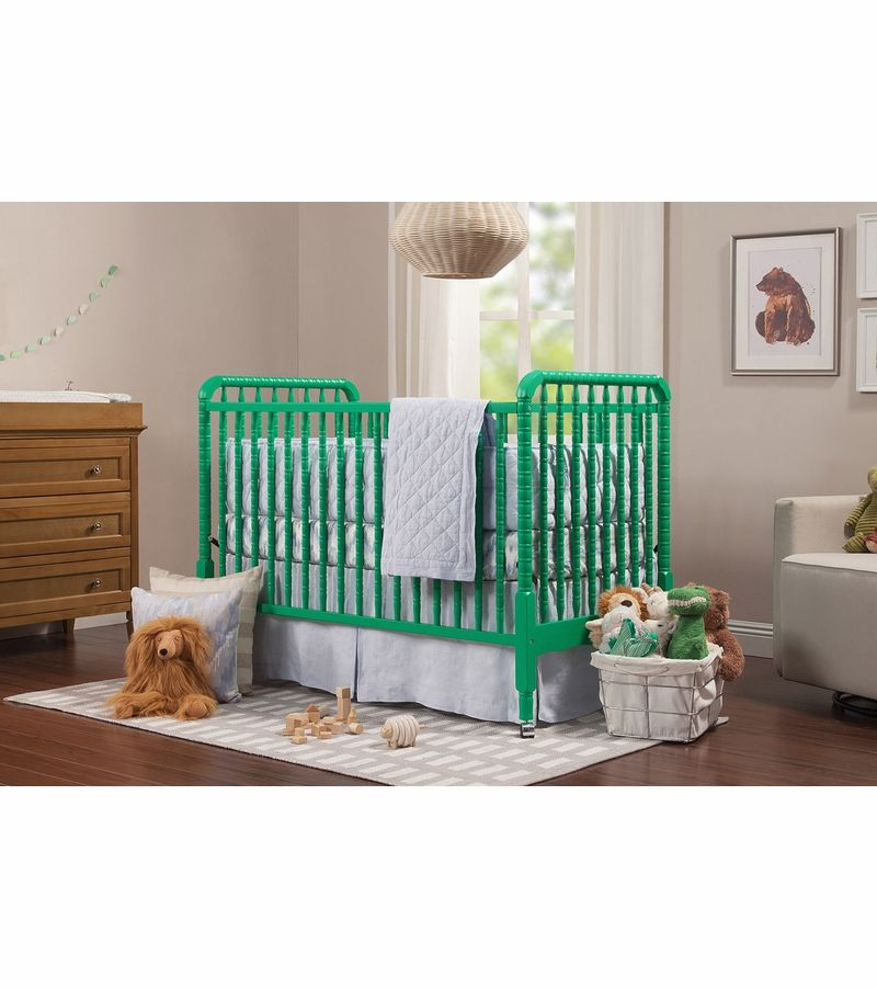 Davinci Jenny Lind 3 In 1 Convertible Crib Emerald