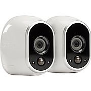 Arlo Wireless Indoor Outdoor Surveillance System With 2 Cameras Vms3230 100nas Home Security Camera Systems Security Cameras For Home Smart Home Security