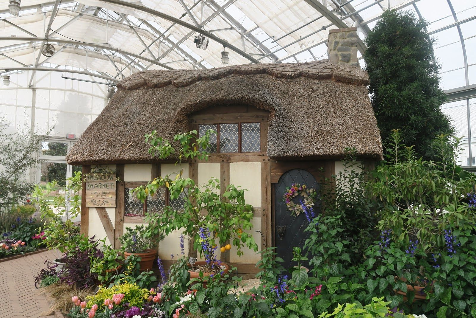 See pictures of the Lewis Ginter Botanical Gardens in