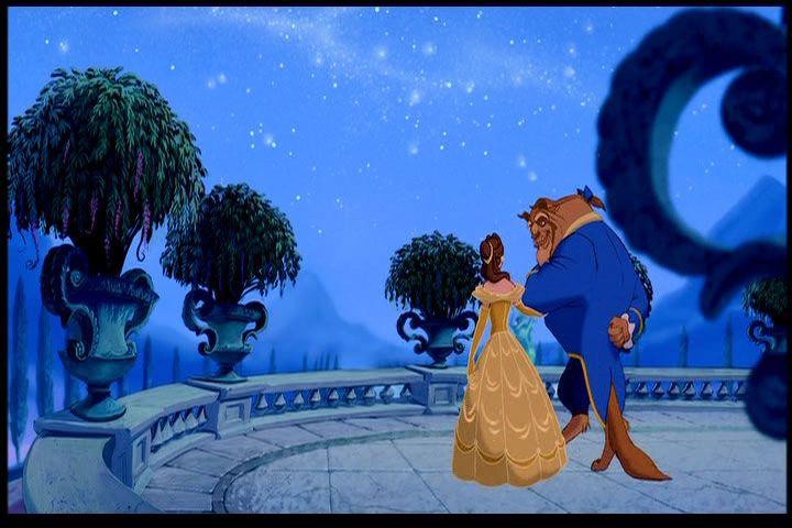 Ballroom Balcony Outside Castle In Disney S Beauty And The Beast