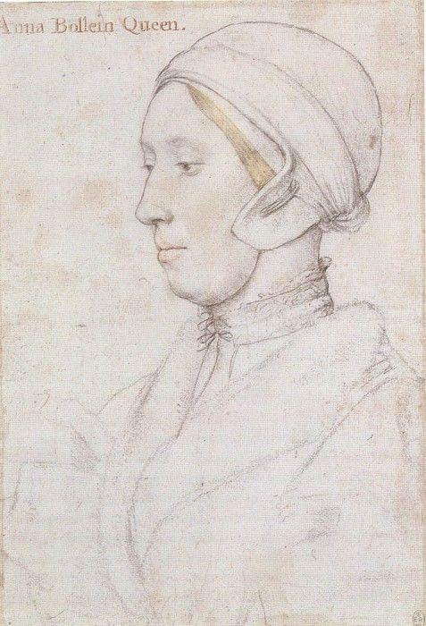 anne boleyn | Thought to be Anne Boleyn by Hans Holbein, c.1536. (The Royal ...