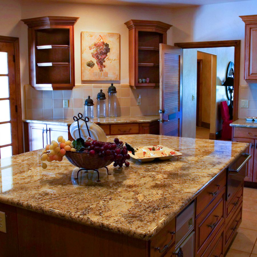 Decor For Kitchen Counters Decorating A Kitchen Countertop